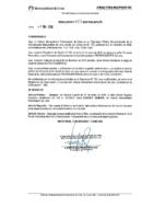 Resolución de Presidencia Ejecutiva N°003-2019-MML/IMPL/PE