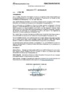 Resolución de Presidencia Ejecutiva N°006-2019-MML/IMPL/PE