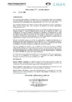 Resolución de Presidencia Ejecutiva N°015-2019-MML-IMPL/PE