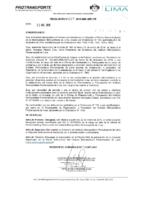 Resolución de Presidencia Ejecutiva N°017-2019-MML-IMPL/PE