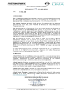 Resolución de Presidencia Ejecutiva N°018-2019-MML-IMPL/PE