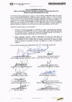 Acta de compromiso institucional para la implementación del SCI para el IMPL