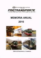 Memoria Institucional 2016