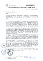 PAAC 2006 – Décima Modificatoria