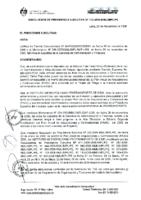 PAAC 2006 – Décimo Tercera Modificatoria