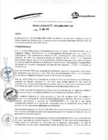 PAAC 2015 – Primera Modificación