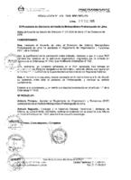 Reglamento de Organización y Funciones – ROF – 2008