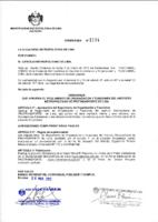 Reglamento de Organización y Funciones – ROF – 2012