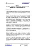 30.Jun.2008 Proc. Operación de Recaudo – Bases, Contratos y Anexos – Anexo N°17