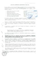 Acta de Sesión de Directorio N° 05-2014 respecto a la Apelación presentada por el Consorcio Transport Rápido Express