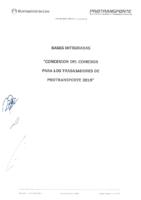 Bases de la Convocatoria del Servicio de Alimentación Concesionario Comedor Protransporte 2018