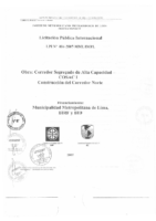 Bases del Corredor Norte 004-2007