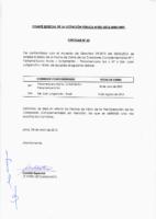 Circular N° 60 – Ampliación fecha de Cierre de Corredores Complementarios