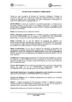 Contrato de Consorcion Coordinador