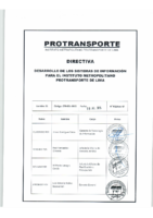 Directiva GTI-001-2015