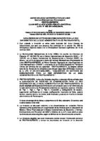 Llamado a Liscitación Pública Nacional Nacional (26.05.11)