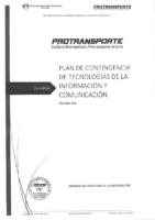 Plan de Contingencia 2014