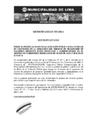 Procedimientos Operación de Buses Aviso de Convocatoria
