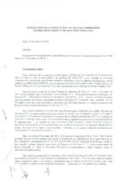 Resolución N° 03-2014 del Comité Especial sobre la Reconsideración presentada por el Consorcio Corporación Lima Norte Villa Express