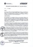 Según Resolución de Gerencia General N° 087 2012
