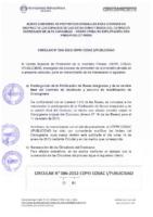 Circular 006-2012-CEPRI COSAC I / PUBLICIDAD