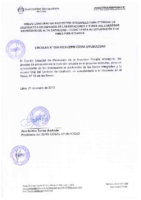 Circular 008-2012-CEPRI COSAC I / PUBLICIDAD
