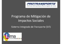 Mitigación de Impactos Sociales (26/03/2012)