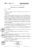 001-2014-GC Implementación y Desarrollo del Voluntariado del Metropolitano de PROTRANSPORTE