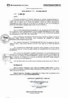 Resolución de Presidencia Ejecutiva N° 001-2016-MML/IMPL/PE