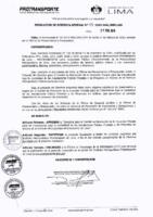 001-2019-GPIC Para el Comité de Promoción de la Inversión Privada para las Concesiones bajo la modalidad de las Asociaciones Público Privadas y de Proyectos en Activos en el Instituto Metropolitano Protransporte de Lima