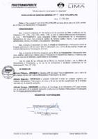 001-2019-OPP Para la elaboración, uso y envío de documentos oficiales del Instituto Metropolitano Protransporte de Lima