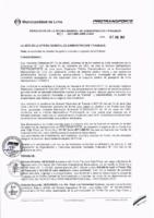 Resolución de la Oficina General de Administración y Finanzas N° 001-2017-MML/IMPL/OGAF