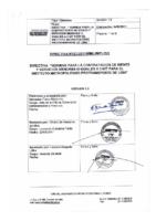 002-2011-GG Normas para la contratación de bienes y servicios menores o iguales a 3 UIT para el IMPL