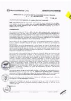 Resolución de la Oficina General de Administración y Finanzas N° 002-2017-MML/IMPL/OGAF