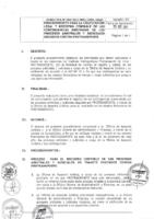 003-2012-OGAF Procedimiento para Calificación Legal y Registro Contable de las Contingencias Derivadas de los Procesos Arbitrales y Judiciales seguidos a Protransporte