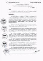 Resolución de la Oficina General de Administración y Finanzas N° 003-2016-MML/IMPL/OGAF