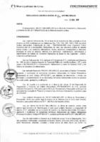 Resolución de la Oficina General de Administración y Finanzas N° 003-2017-MML/IMPL/OGAF