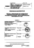004 2011 GG Procedimientos para aprobación de expedientes de Contratación y Bases de los Procesos de Selección del IMPL