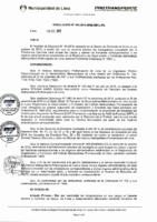 Resolución de Presidencia Ejecutiva N° 005-2016-MML/IMPL/PE