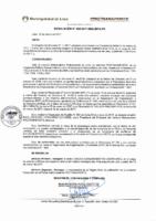 Resolución de Presidencia Ejecutiva N° 005-2017-MML/IMPL/PE