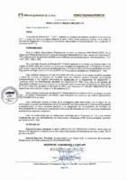 Resolución de Presidencia Ejecutiva N° 006-2017-MML/IMPL/PE