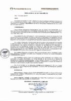Resolución de Presidencia Ejecutiva N° 007-2017-MML/IMPL/PE