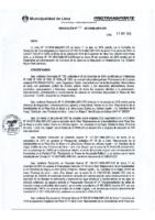 Resolución de la Gerencia de Regulación e Infraestructura N°008-2018-MML/IMPL/GRI