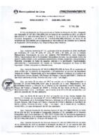 Resolución de la Gerencia de Regulación e Infraestructura N°009-2018-MML/IMPL/GRI.