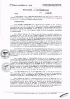 Resolución de la Oficina General de Administración y Finanzas N° 009-2017-MML/IMPL/OGAF