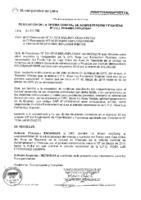 Resolución de la Oficina General de Administración y Finanzas N° 009A-2016-MML/IMPL/OGAF