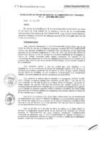 Resolución de la Oficina General de Administración y Finanzas N° 010-2016-MML/IMPL/OGAF
