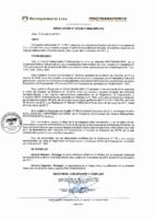 Resolución de Presidencia Ejecutiva N° 010-2017-MML/IMPL/PE