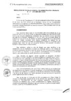 Resolución de la Oficina General de Administración y Finanzas N° 011-2016-MML/IMPL/OGAF