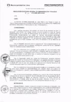 Resolución de la Oficina General de Administración y Finanzas N° 012-2017-MML/IMPL/OGAF